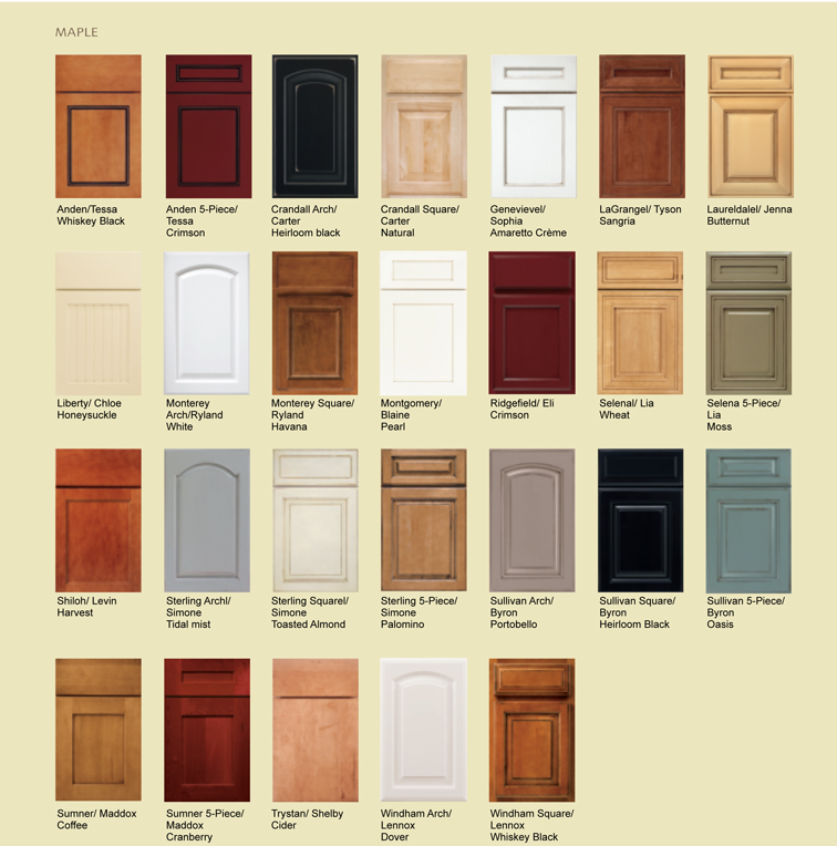 kitchen cabinet glass door styles